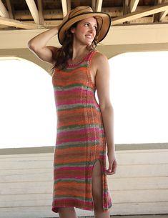 Cottonation Dress – Free Knit Patterns for Women's Spring & Summer Dresses