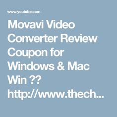 Movavi Video Converter Review Coupon for Windows & Mac  Win ►► http://www.thecheapsoftware.com/movav...  Win 30% ►► http://www.thecheapsoftware.com/movav...    Mac ►► http://www.thecheapsoftware.com/movav...  Mac 30% ►► http://www.thecheapsoftware.com/movav...    Business ►► http://www.thecheapsoftware.com/movav...    Quickly convert video, audio, and DVD files to the format you need