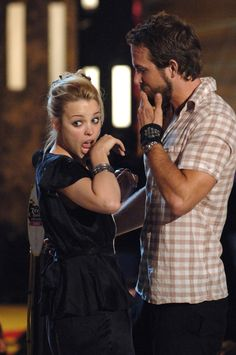 Back in 2005, Ryan Reynolds presented the award for best liplock to Rachel McAdams and Ryan Gosling at the Teen Choice Awards — and Rachel proceeded to kiss Ryan Reynolds!