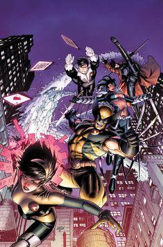 X-Men by Dustin Weaver
