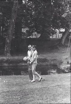 Audrey Hepburn With Fred Astaire on the set of Funny Face
