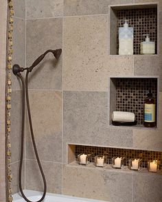 Small Earthy Bath Remodel - eclectic - bathroom - other metro - by In Detail Interiors