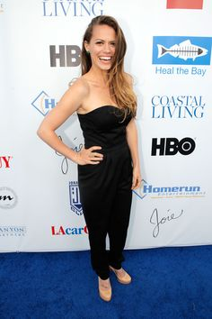 Bethany Joy Lenz-Galeotti At The Bring Back The Beach Event