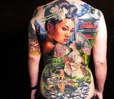 unusual tattos 05 in Top 10 Most Unusual Tattoos Ever - The Most Unique Tattoos. - unusual tattos 05 in Top 10 Most Unusual Tattoos Ever – The Most Unique Tattoos… – – - Unusual Tattoo, Unique Tattoos, Beautiful Tattoos, Japanese Tatoo, Japanese Geisha, Full Back Tattoos, Back Tattoo Women, Bodysuit Tattoos, Music Tattoos