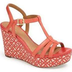 Clarks 'Amelia Avery' Platform Wedge Sandal
