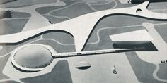Oscar Niemeyer, Spherical Building in the Ibirapuera Park near Sao Paolo, 1951