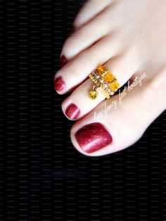 Your place to buy and sell all things handmade Gold Toe Rings, Gold Ring, Painted Toe Nails, Melissa Marie Benoist, Crop Top With Jeans, Anklet Designs, Hair Jewelry, Boho Jewelry, Jewellery