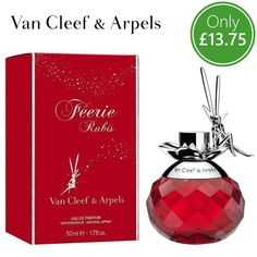 🎯 Just Dropped! At Anielas! Van #Cleef and #Arpels™, #Feerie Rubis Eau de #Parfum #Love, #passion, vitality and #dreams. Feerie Rubis is an ode to everything a ruby symbolises and captures it in a fruity #floral fragrance with a delightfully #sweet #freshness ... Out Now: https://www.anielas.com/collections/ladies-fragrances/products/feerie-rubis-by-van-cleef-and-arpels-eau-de-parfum-50ml?variant=30790102474 #ThursdayFeeling #ThursdayMotivation #Thursday