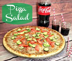 #EffortlessMeals #CollectiveBias #AD #PIZZA #cenarápida #pizzasalad