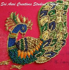 Aari Embroidery classes & orders contact Sri Aari Creatives - 9842995293