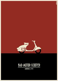 Illustration for the song Bad Motor Scooter, by Montrose.      About the project: www.rahmaprojekt.com    Facebook page: www.facebook.com/rahmaprojekt