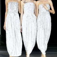 Armani. I can not express how much I loved this collection and this ending finale! These models looked STUNNING.