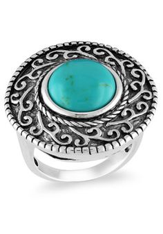 Pretty ring in turquoise