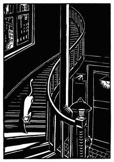 Frans Masereel, Grabado de 'La ciudad' 1925