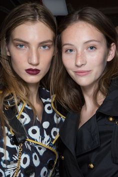 Showstopping Backstage Beauty Looks from London Fashion Week 2016 | @StyleCaster