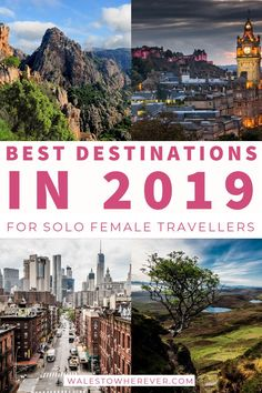 20+ Epic Destinations for Solo Female Travellers! - From the well-trodden paths of London and New York to the backpackers' haven of Thailand, check out this list of INCREDIBLE solo female travel destinations to add to your bucket list for 2019 and beyond. #solofemale #solotravel #tripinspiration #amazingdestinations