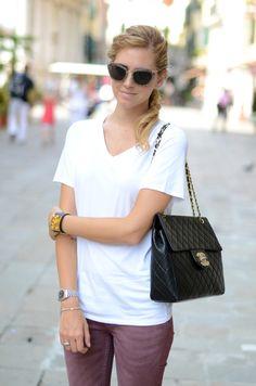 202583810418 Leanne Cronin Henderson · Miu miu glitter sunglasses · chiara with lovely  Chanel Chanel Boy Bag