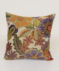 This Lilac Lainey Throw Pillow is perfect by Brentwood Originals, $12 !!  #zulilyfinds