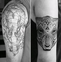 David hale tattoo, animal tattoo,