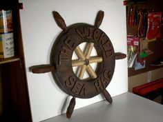 My Pirate Costume Ship's Wheel!!: 12 Steps (with Pictures)