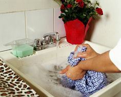 When laundry stains happen, grab one of these unexpected stain removers that you probably have on hand.: 7 Surprising Laundry Stain Removers You Probably Have On Hand