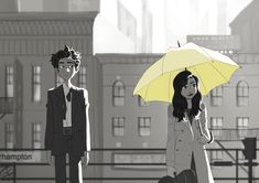 Imagem de how i met your mother, himym, and ted mosby Ted Mosby, Tracy Mosby, Movies Showing, Movies And Tv Shows, Ted And Tracy, Yellow Umbrella, Himym, Fan Art, I Meet You