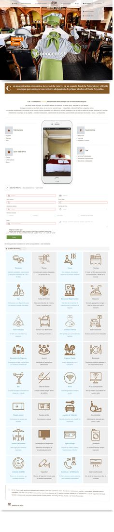Diseño web para Del Pomar Hotel Boutique - Resistencia, Chaco