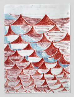Louise Bourgeois, Insomnia Drawings.