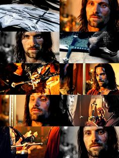 Aragorn! Lord of the Rings!