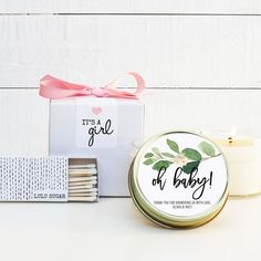 2 or 2.5 round Personalized Chevron Baby Shower Labels Choose any color Mason Jar Stickers 1.5 Shower Favor Labels