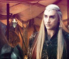 """I think you want to save your Dwarvish friends.""  - -Thranduil by vendelina.deviantart.com on @DeviantArt"