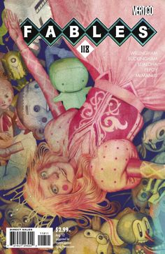 Fables #118 - Cubs in Toyland, Part 5: Broken Kite, A Revolution in Oz, Chapter Five: Bounty on the Mutiny (Issue)
