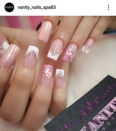 Camo Nails, Pink Nails, Fabulous Nails, Perfect Nails, Hello Nails, Nail Piercing, Dream Nails, Cute Acrylic Nails, Square Nails