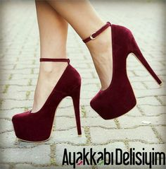 Sea Süet Bordo Platform Topuklu Ayakkabı We think that tattooing can be quite a method that's been used since the … Hot Heels, Lace Up Heels, Pumps Heels, Sexy Heels, Platform Shoes Heels, Stiletto Shoes, Women's Shoes, Red Platform, Shoes Men