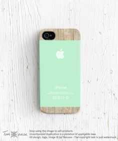 Mint iPhone 4 case Green iPhone 5s case spring iPhone 5 door TonCase, $19,99