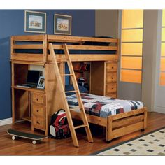 Wrangle Hill Collection Loft Bed