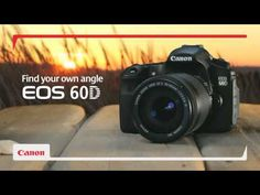 Canon - EOS 60D Tutorial Videos. Time to learn how to use this new camera of mine :))