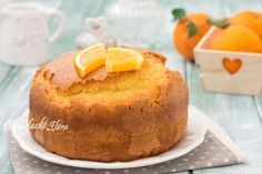 Torta sublime all'arancia Cake Recipes, Dessert Recipes, Desserts, Sweet Corner, Sweet Cakes, Cornbread, Mousse, Food And Drink, Pudding