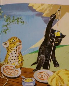 why are cats eating noodles so damn cute? gawd im strange
