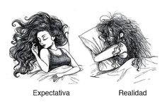 Divertidos cómics que reflejan los dilemas del cabello en toda mujer