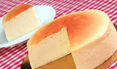 Light and fluffy, Japanese Cheesecake is a delicious gift for a real cheesecake lover. It's a melt-in-your-mouth combination of creamy cheesecake and airy so. Japanese Cotton Cheesecake, Japanese Cheesecake Recipes, Cotton Cake, Fantasy Cake, Caribbean Recipes, Cake Shop, Cheesecakes, Deli, Vanilla Cake