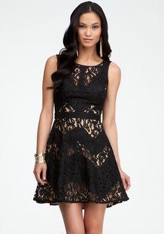 Bebe lace dress xxs energy