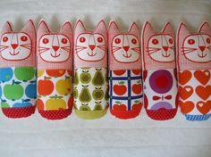 Retro knuffels van Jane Foster Door Color