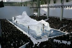 Iceberg Catwalk, Chanel fall/winter 2010
