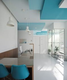 Meek Dental Office Names Clinic Interior Design, Design Salon, Clinic Design, Healthcare Design, Medical Office Decor, Office Waiting Rooms, Cabinet Medical, Dental Office Design, Hospital Design