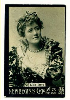 Cigarette Card - Ellen Terry | Flickr - Photo Sharing!