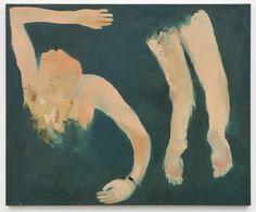 Brust Rücken Kraul. Painting by Marlon Wobst
