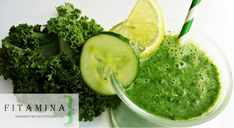 fit-amina: Koktajl z jarmużem i ogórkiem Palak Paneer, Ethnic Recipes, Food, Smoothie, Essen, Smoothies, Meals, Yemek, Eten