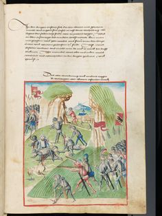 Bern, Burgerbibliothek, Mss.h.h.I.1, f. 423 – Diebold Schilling, Amtliche Berner Chronik, vol. 1