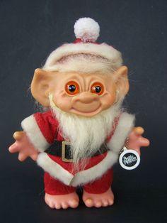 Hey, I found this really awesome vintage Dam Santa Troll.